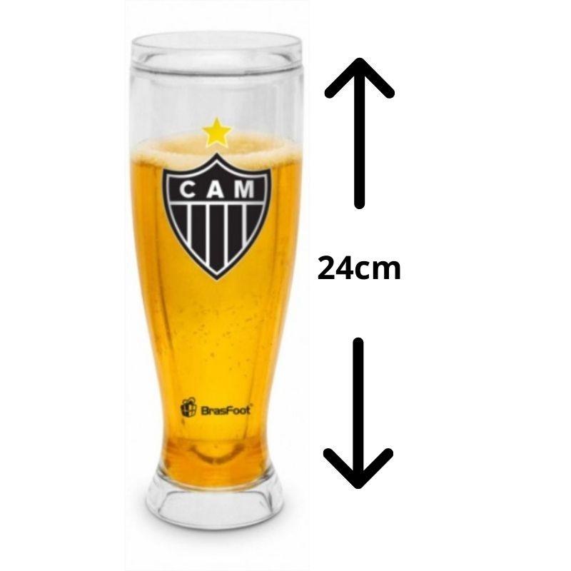 Copão Gel Congelante Cerveja Atletico Mineiro Galo 450ml Brasfoot