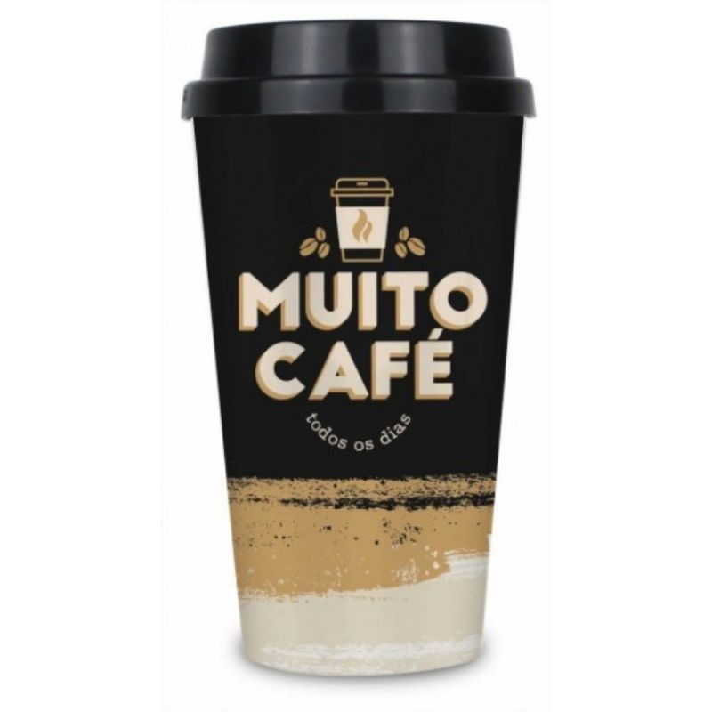 Copo Bucks Cafe 550ml - Muito Cafe Todos os Dias Brasfoot