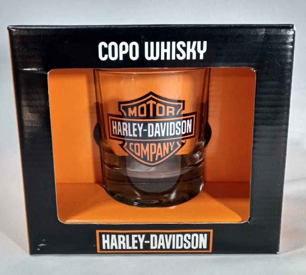 Copo Whisky Atol Harley Davidson 310ml Brasfoot