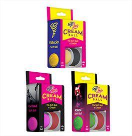 Excitante Cream Ball Bolinha e Creme Sensações Kit com 6 Unid Soft Love