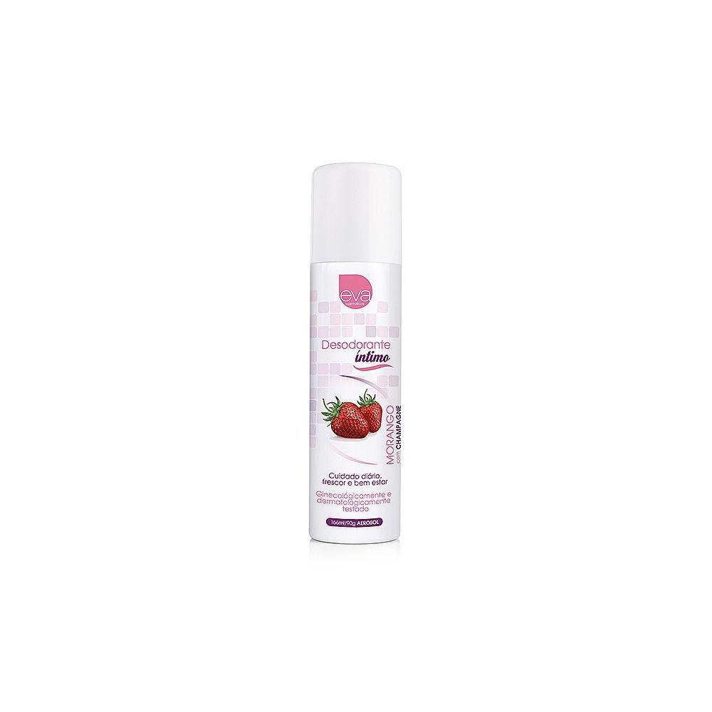 Desodorante Intimo Corporal aerosol 66 ml Adão e Eva