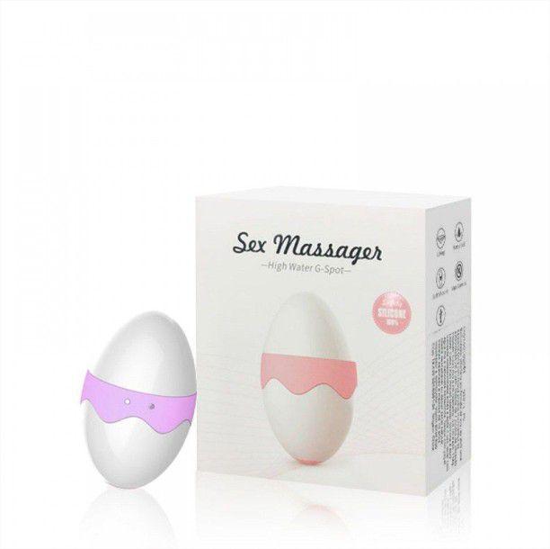 Estimulador Clitoriano Formato Ovo 7 Vibrações Sex Massager Importado
