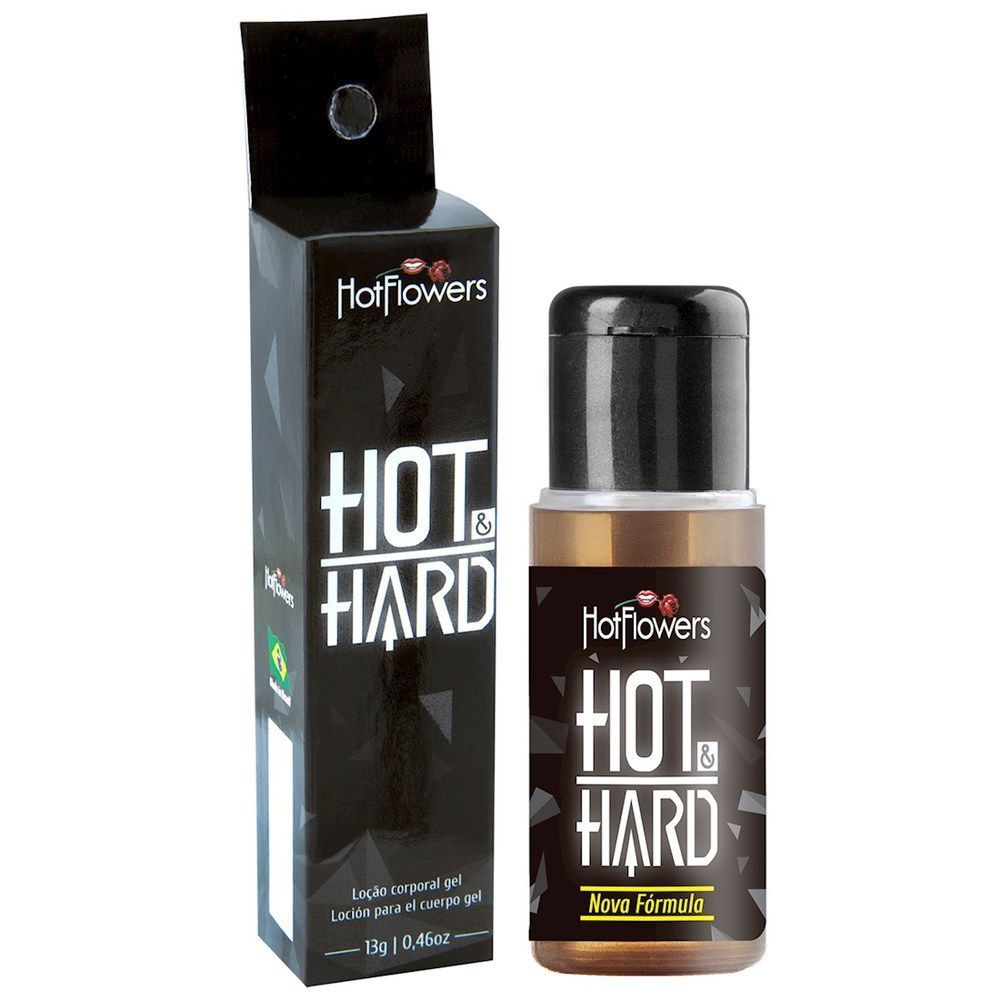 Excitante Masculino Hot Hard 13g Hot Flowers