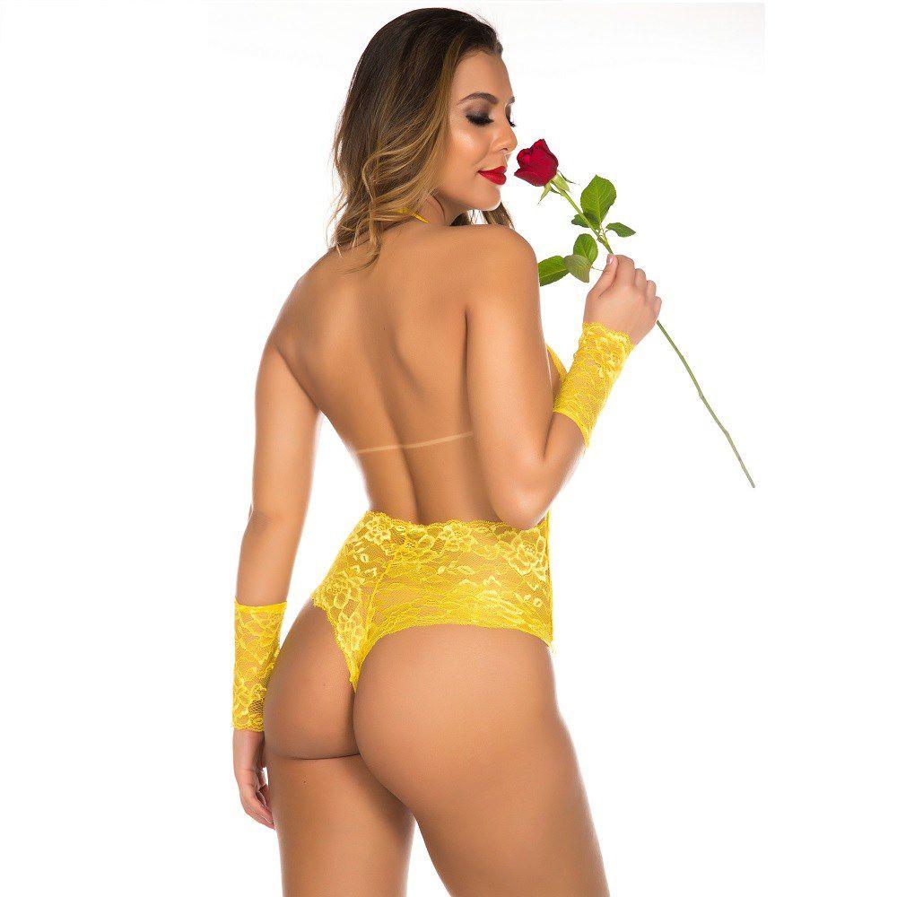 Fantasia Sensual Princesa Bela Clássica Pimenta Sexy