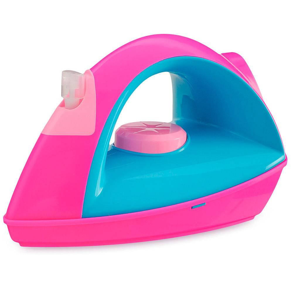 Ferrinho De Passar Com Compartimento E Spray Para Borrifar Água Usual Brinquedos