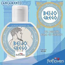 Gel Anal Beijável Beijo Grego 20g Hot Flowers