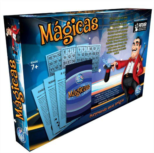 Jogo Magica Pais e Filhos