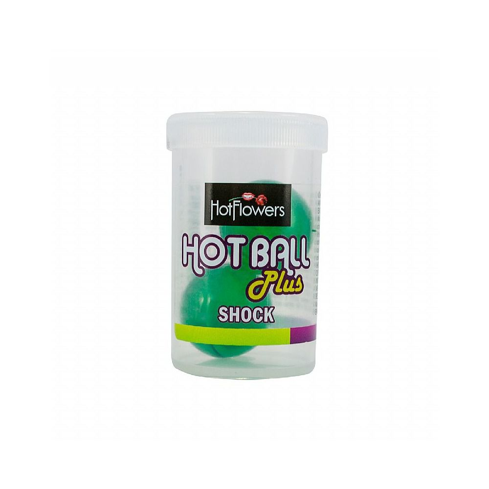 Kit 10 Bolinhas Explosivas Funcionais Excitantes Sensações Variadas Hot Ball Plus Hot Flowers
