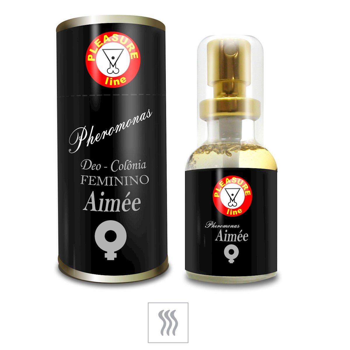 Kit 3 Perfumes Femininos Afrodisiacos Ast Aimee e Jade 20ml Pleasure Line