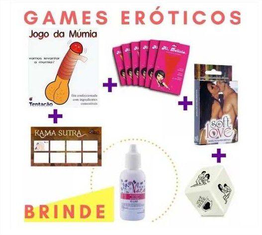 Kit 5 Brincadeiras Eróticas Saia Da Rotina + Tesão De Vaca
