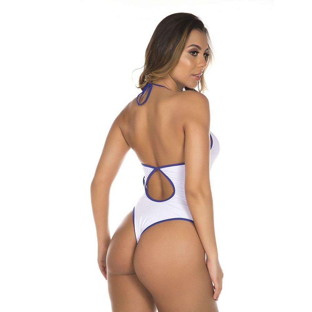 Kit Fantasia Body e Cueca Sensual Capitão America Pimenta Sexy
