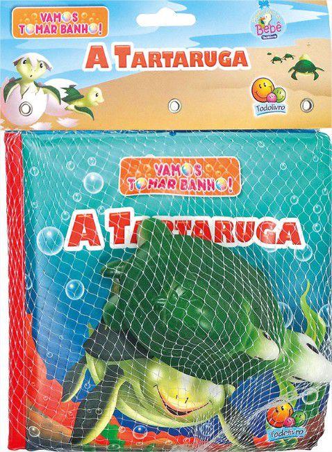 Livro de Banho Do Bebê - Vamos Tomar Banho! A Tartaruga com 1 Bichinho Todo Livro
