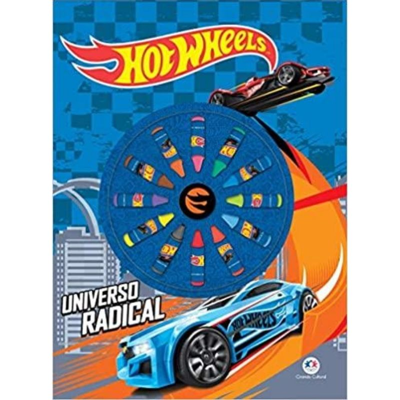 Livro Para Colorir - Hot Wheels - Universo Radical Ciranda Cultural