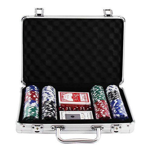 Maleta De Poker 200 Fichas Completo Western Games