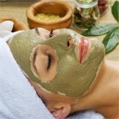 Máscara Facial em Pó Argila Verde 500g Dokmos
