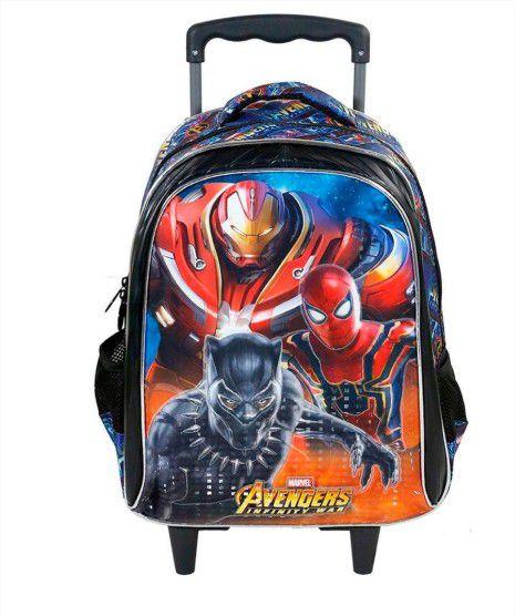 Mochila com Rodinha Vingadores Guerra Infinita Avengers Marvel Xeryus