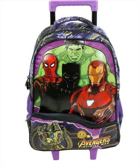 Mochila com Rodinha Vingadores Avengers Marvel Xeryus