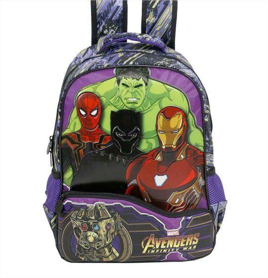 Mochila de Costas Vingadores Avengers Marvel Xeryus