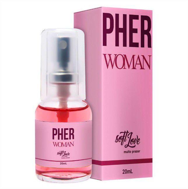 Perfume Feminino Afrodisíaco Pher Woman 15ml Soft Love