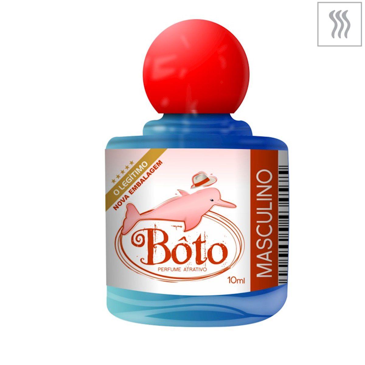 Perfume Afrodisíaco Masculino Bôto Concentrado 10ml