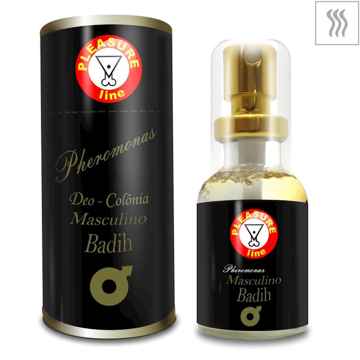 Perfume Masculino Pheromonas c/ feromônio 20ml 1 unid Pleasure Line