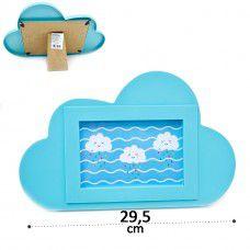 Porta retrato Nuvem Chuva de benção 10x15cm 1unid Importado