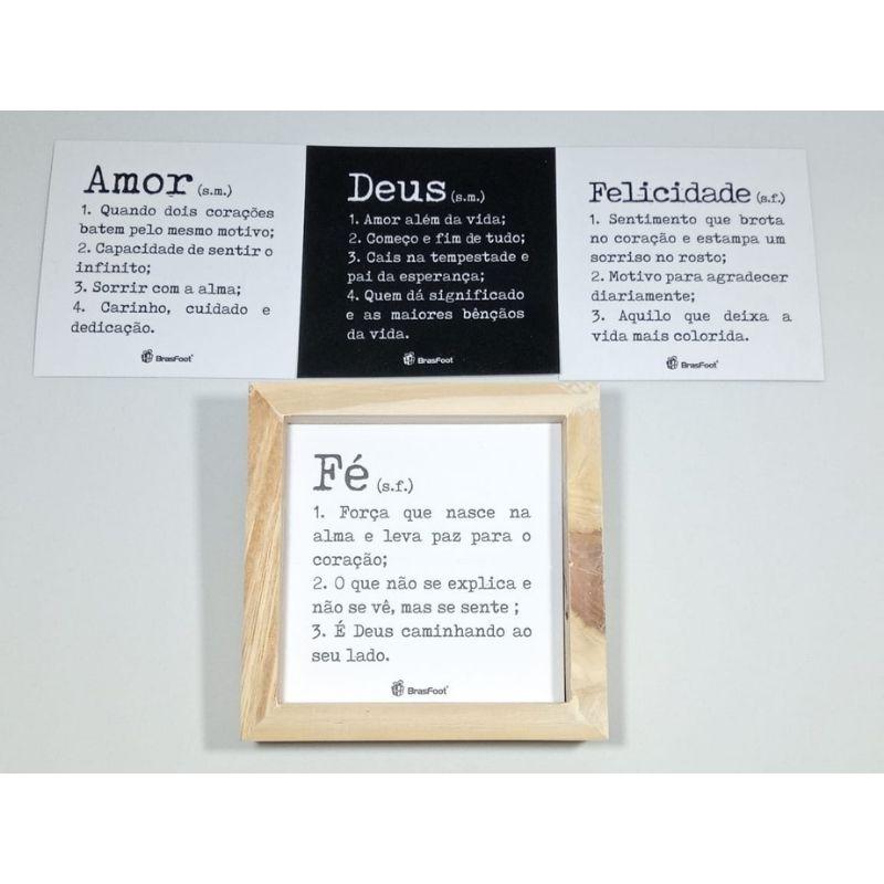 Quadro Cards Mensagens Inspiradoras Frases Significado Brasfoot