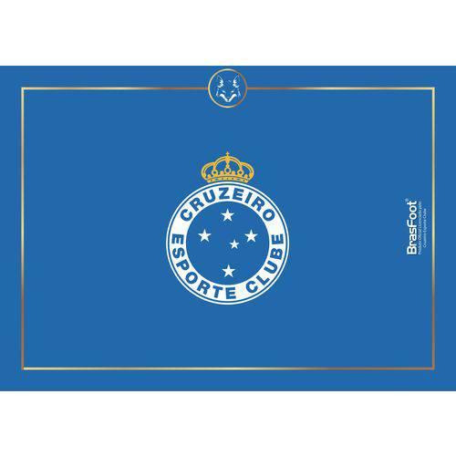Tábua de vidro Churrasco Times Cruzeiro Presente Brasfoot