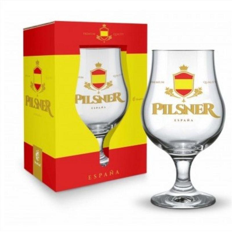 Taça Dublin 400ml - Espanha Pilsner Presente Brasfoot
