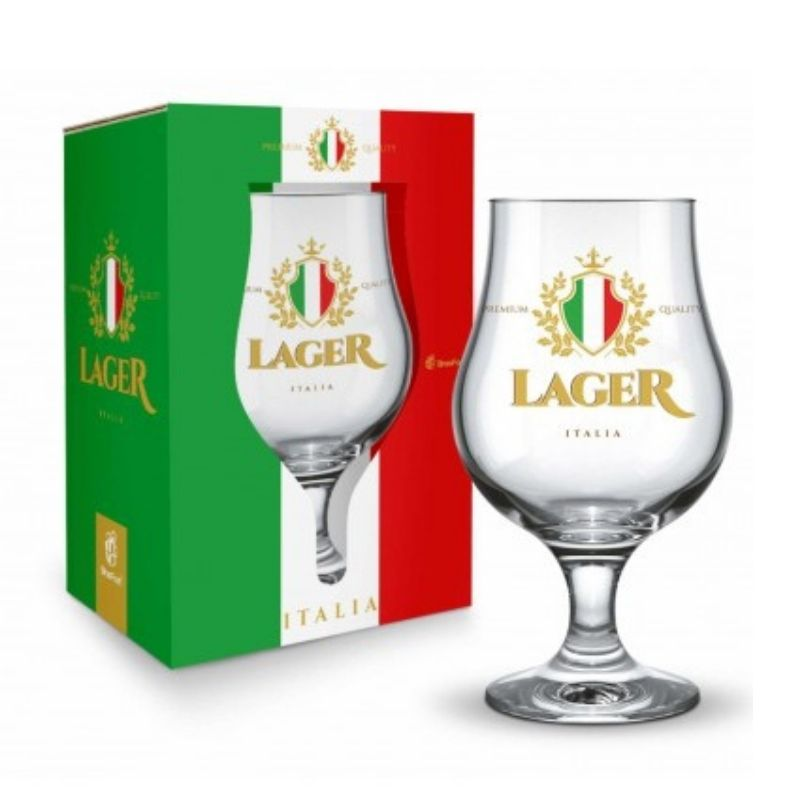 Taça Dublin 400ml - Italia Lager Presente Brasfoot