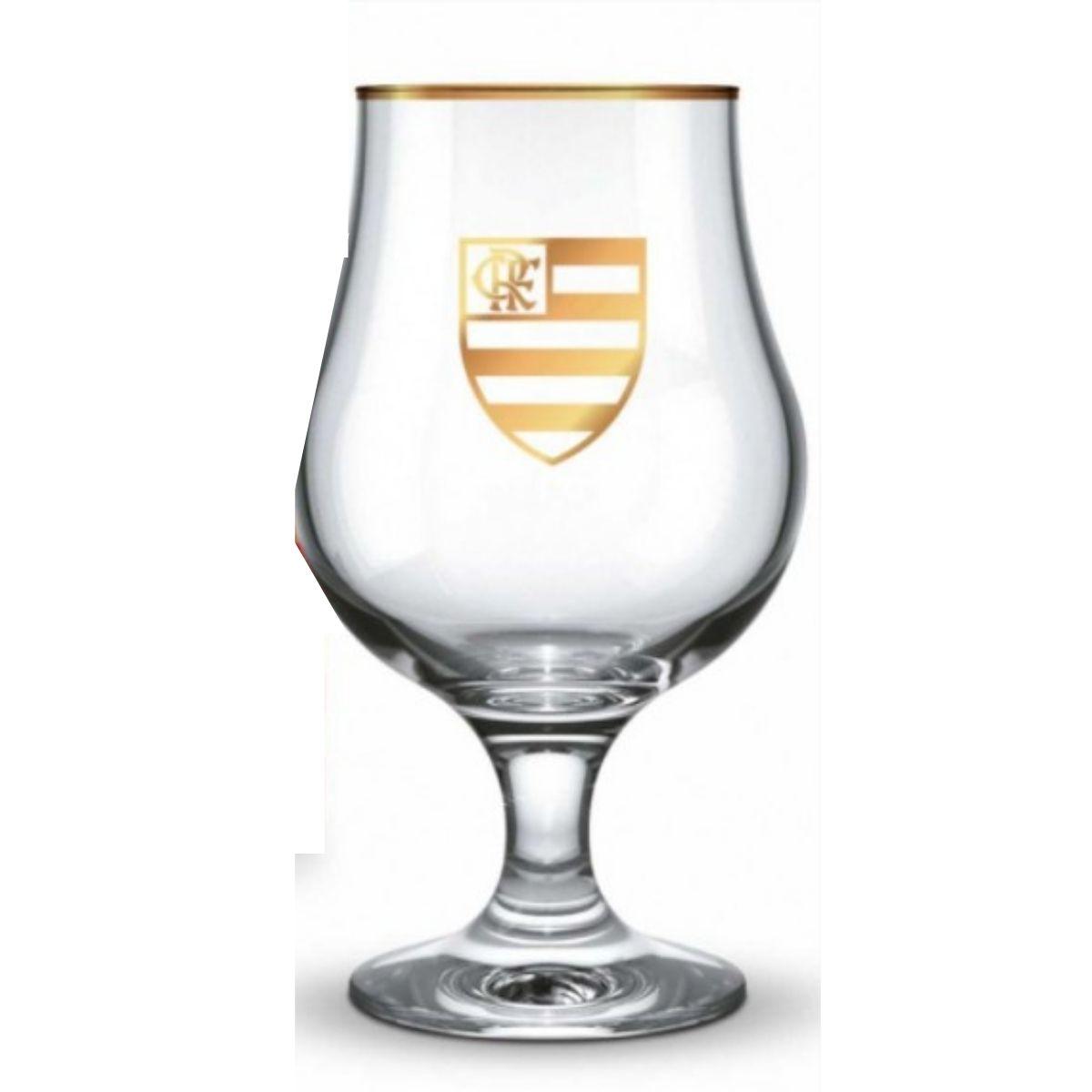 Taça Dublin Cerveja 400ml - Flamengo Série Ouro Brasfoot