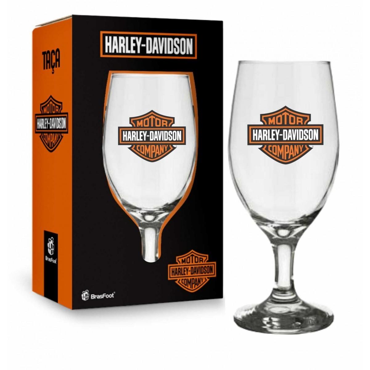 Taça Windsor 330ml - Harley Davidson Presente Brasfoot