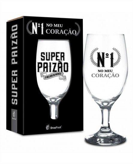 Taça Windsor 330ml - Super Paizão Presente Brasfoot