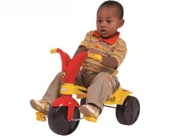 Triciclo Velotrol Tigrão Infantil Meninos Xalingo Promoção