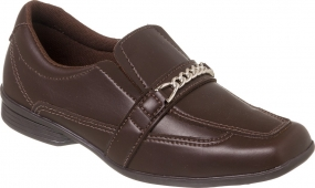 Sapato Social Juvenil Masculino Marrom + Cinto | Classic