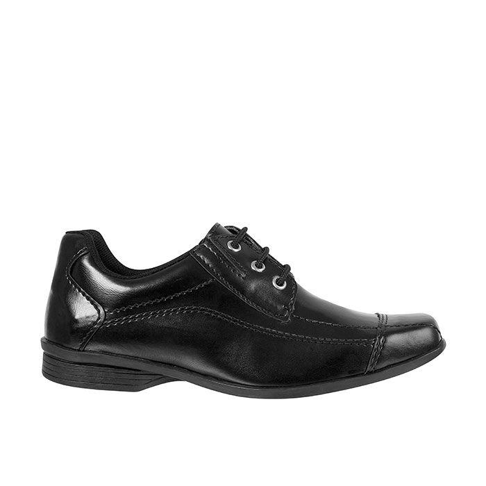 Sapato Social Juvenil Masculino Preto + Cinto | Classic