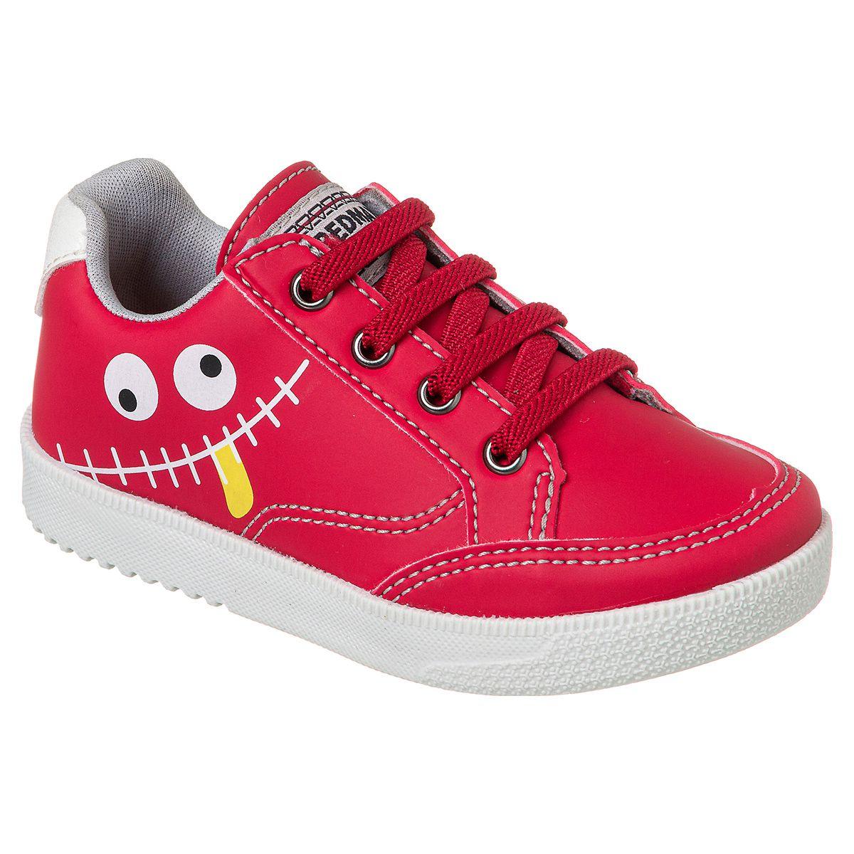 Sapatênis Infantil Menino - Vermelho - Vity