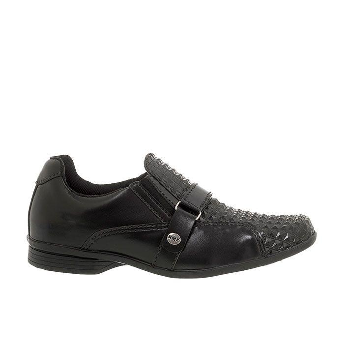 Sapato Social Infantil Masculino Preto + Cinto | Classic