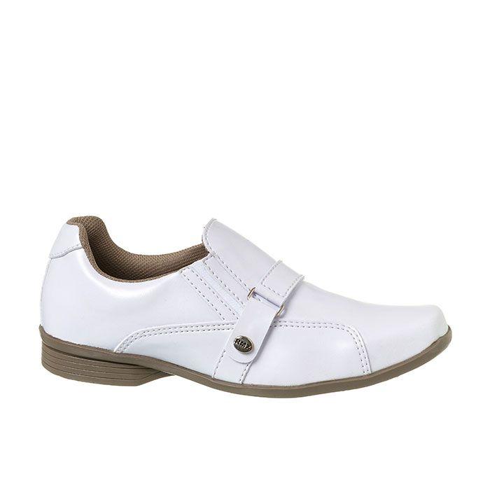 159137676 ... Sapato Social Juvenil Masculino Branco + Cinto