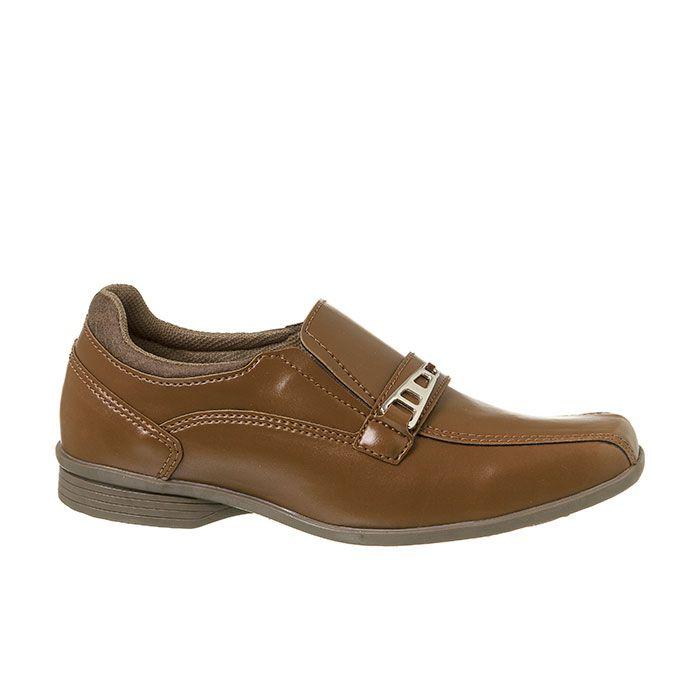 Sapato Social Juvenil Masculino Chocolate + Cinto | Classic