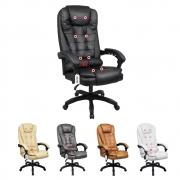 Cadeira De Escritório Presidente Com Massageador E Aquecimento