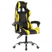 Cadeira Gamer Giratória Kelter Amarela V709