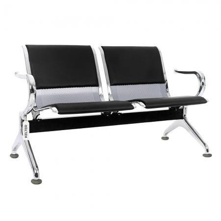 Cadeira Longarina 2 Lugares Assentos Aeroporto Estofados V902a