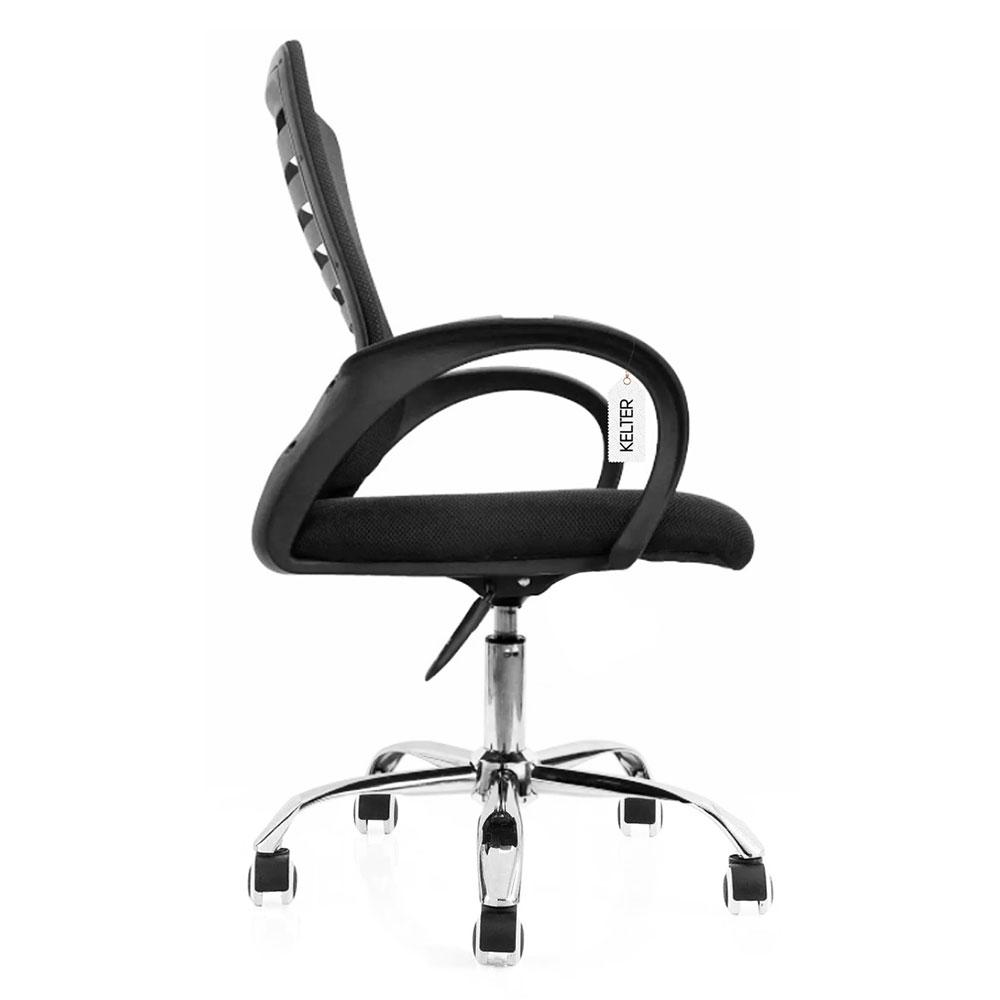 Cadeira de escritório em tela mesh giratória Kelter V102