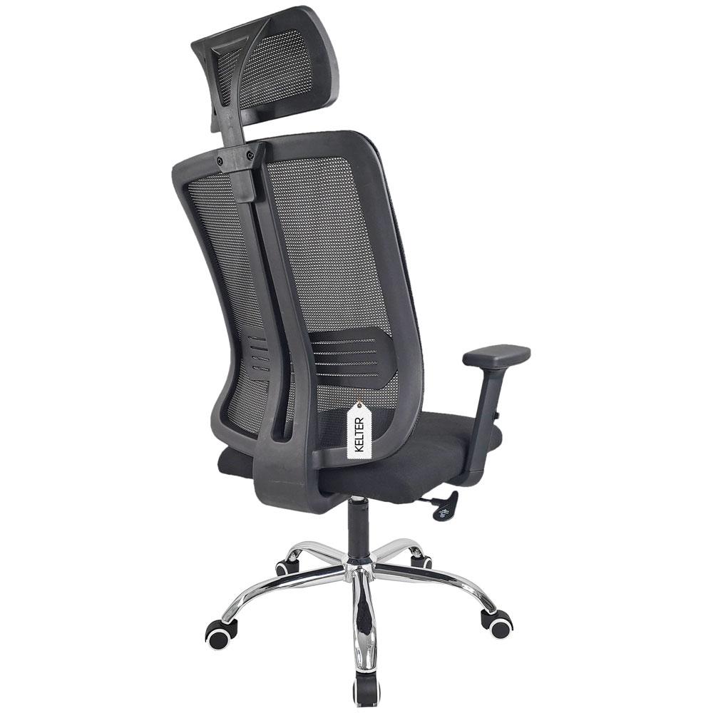 Cadeira de escritório ergonômica em tela mesh Kelter V510