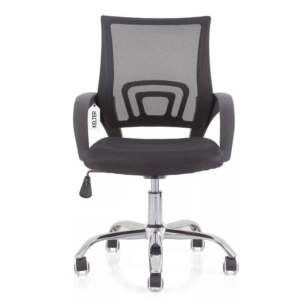 Cadeira de escritório giratória em tela mesh Kelter V101