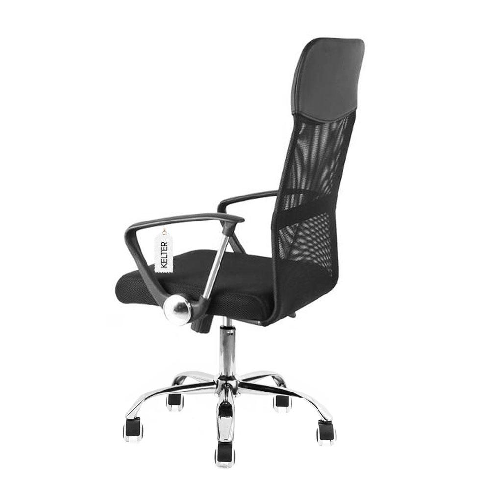 Cadeira de escritório presidente em tela mesh Kelter V103