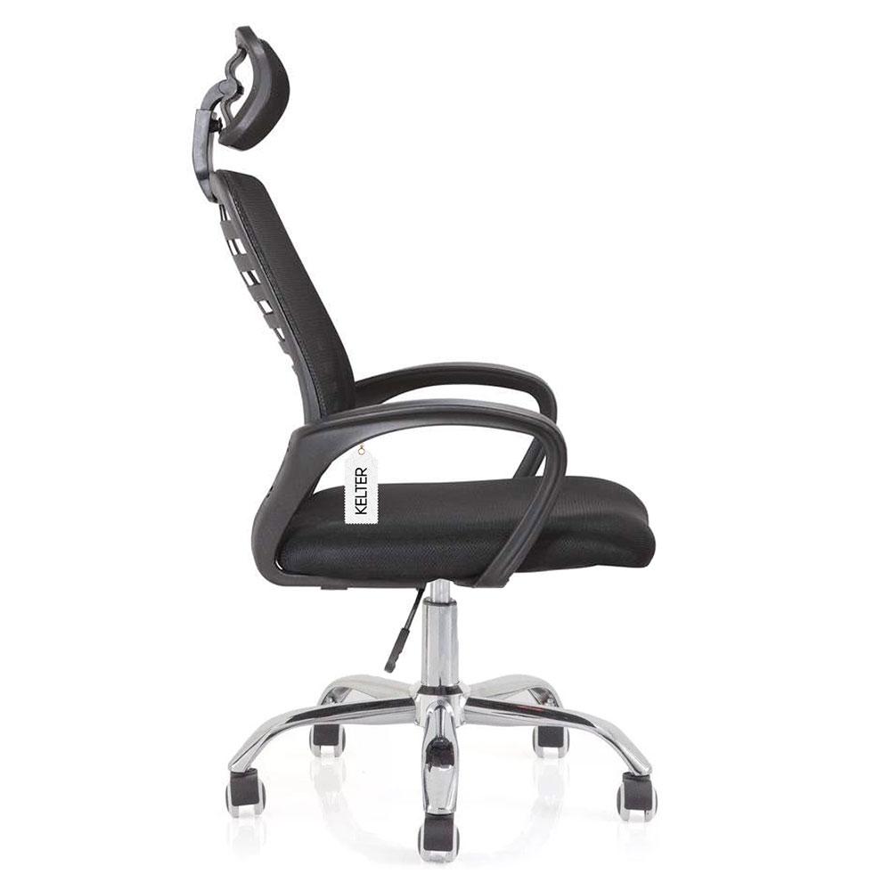 Cadeira de escritório presidente em tela mesh Kelter V104