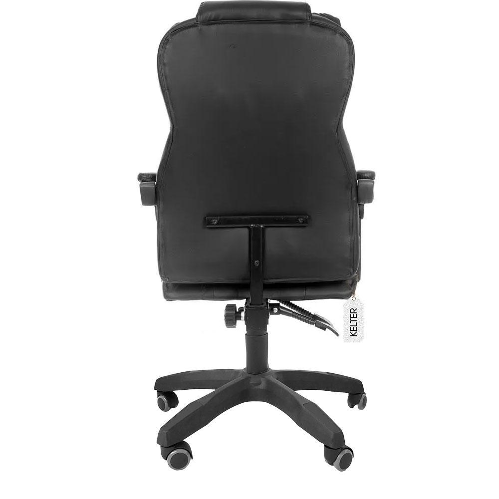 Cadeira De Escritório Presidente Reclinável Kelter F00 Preta