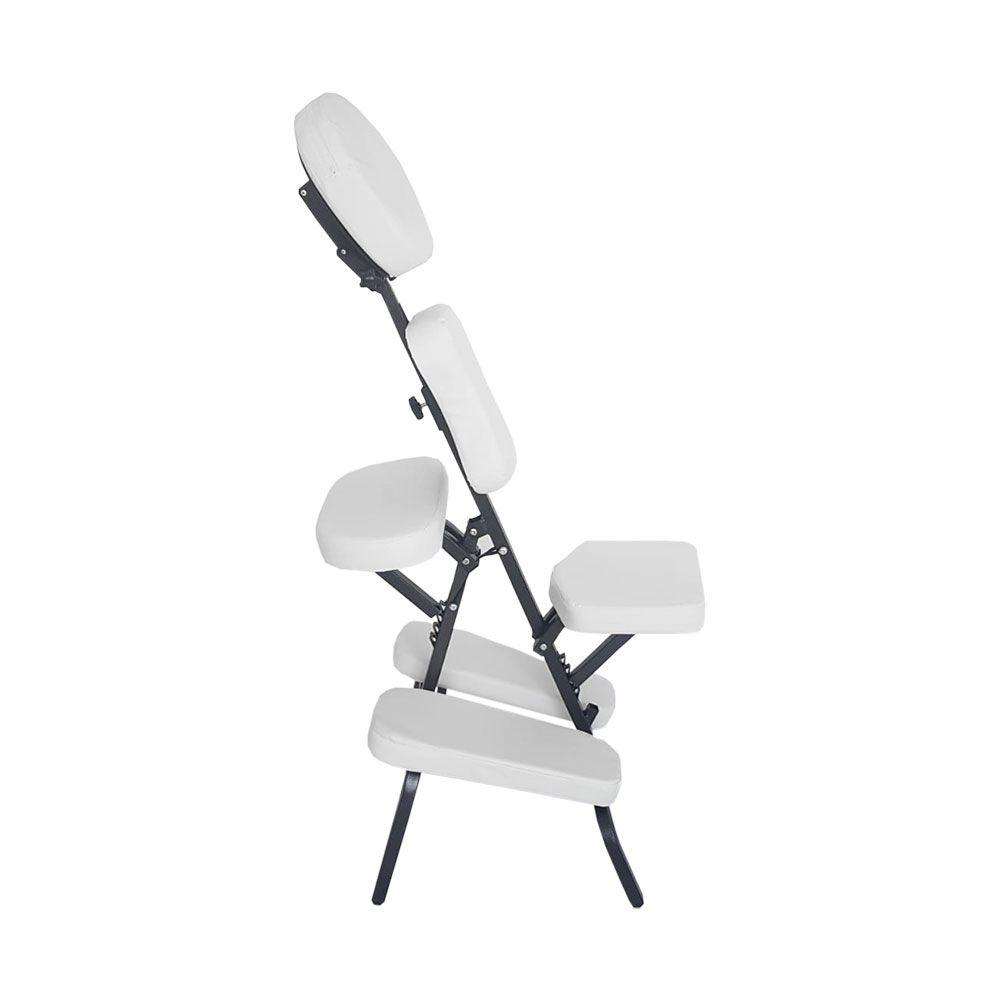 Cadeira De Massagem (quick massage) Shiatsu Branca Kelter K-S201